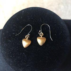 Satya Gold Brad's Heart Earrings